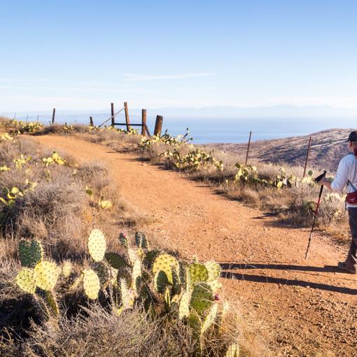 Jeremy on the Trail