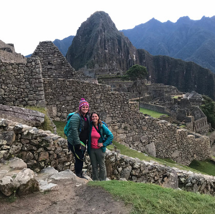 #ChristaKrista at Machu Picchu