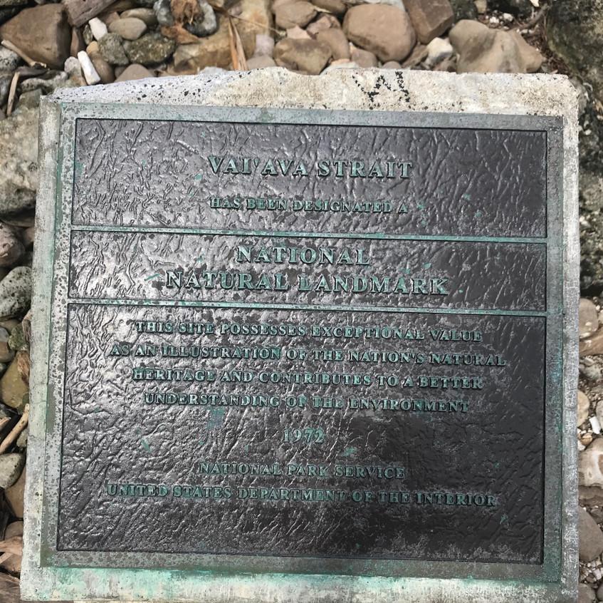 National Historic Landmark Sign
