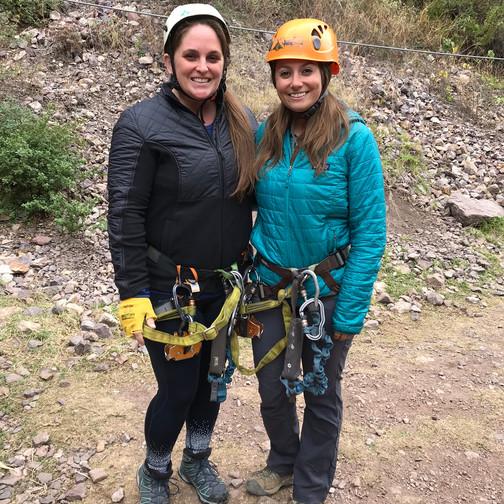 #ChristaKrista Ready to Climb-ish