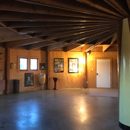 First floor of the Integratron