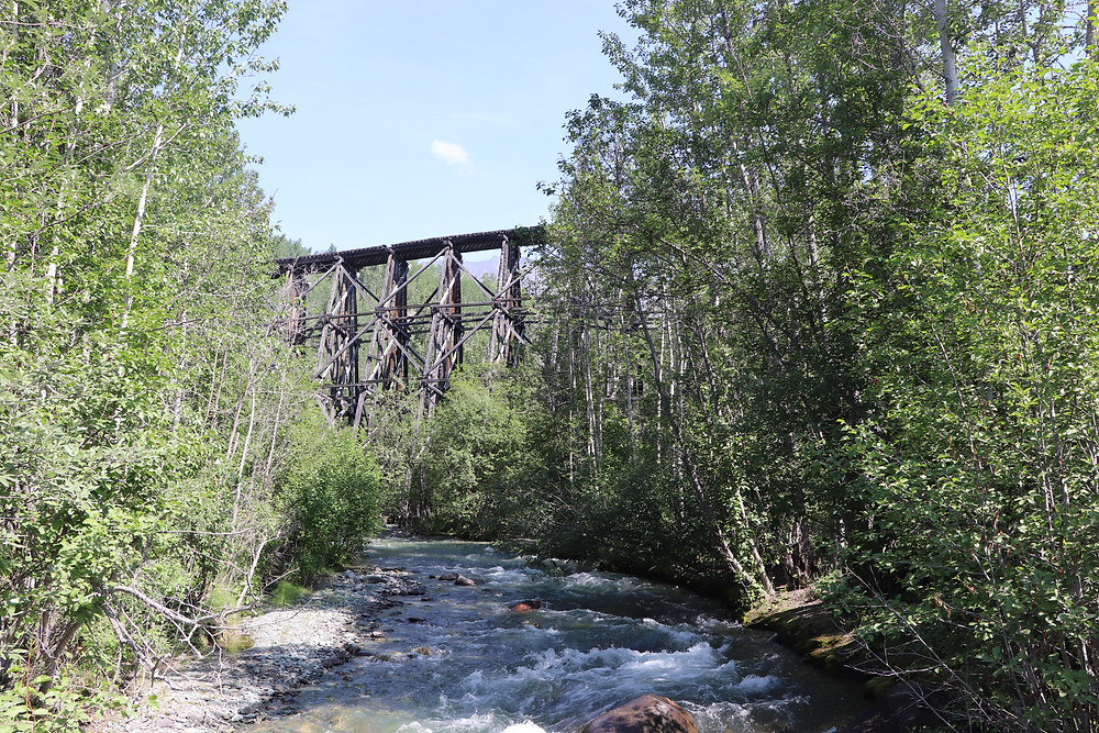 Gilahina Trestle - McCarthy Road - Wrangell-St. Elias National Park and Preserve