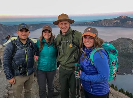 #ChristaKrista+Jeremy: Northern California & Oregon National Parks