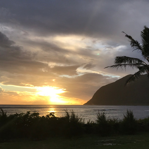 Sunset on Ofu