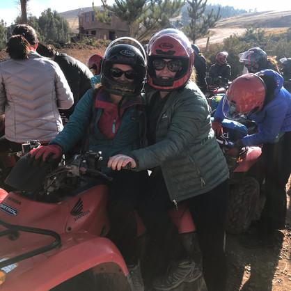 #ChristaKrista Share an ATV