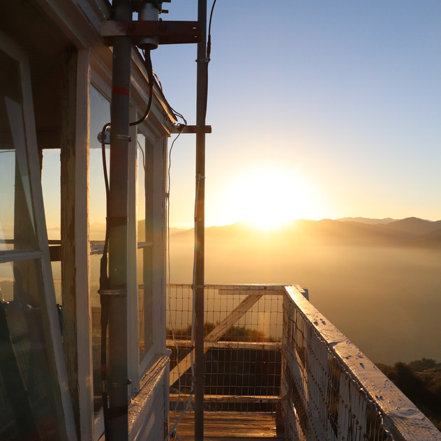 Sunset at the lookout