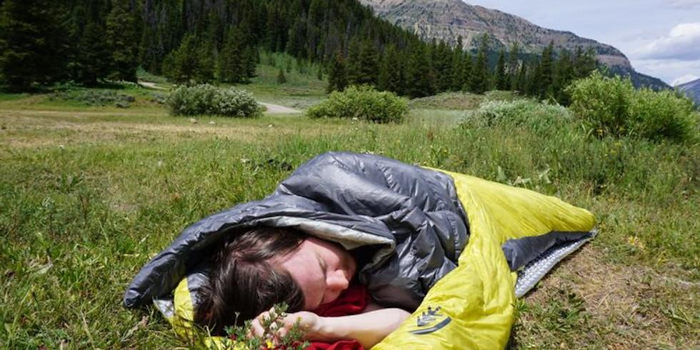 Virtual Workshop: Sleeping Bags & Sleep Systems
