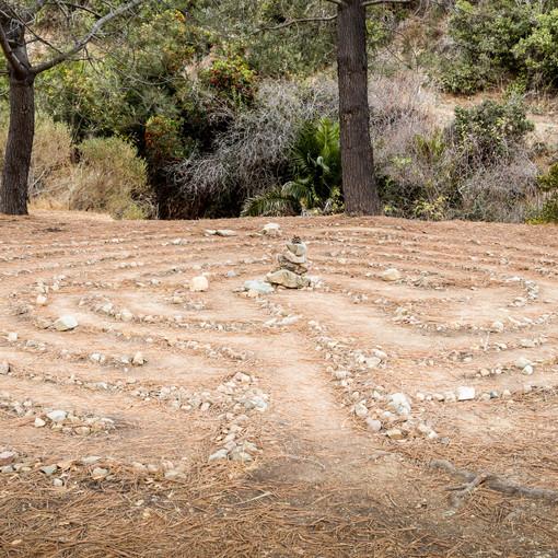 Labyrinth Near Hermit Gulch