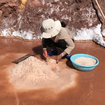 Workers - Salinas de Maras