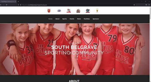 South Belgrave Sporting Community Website