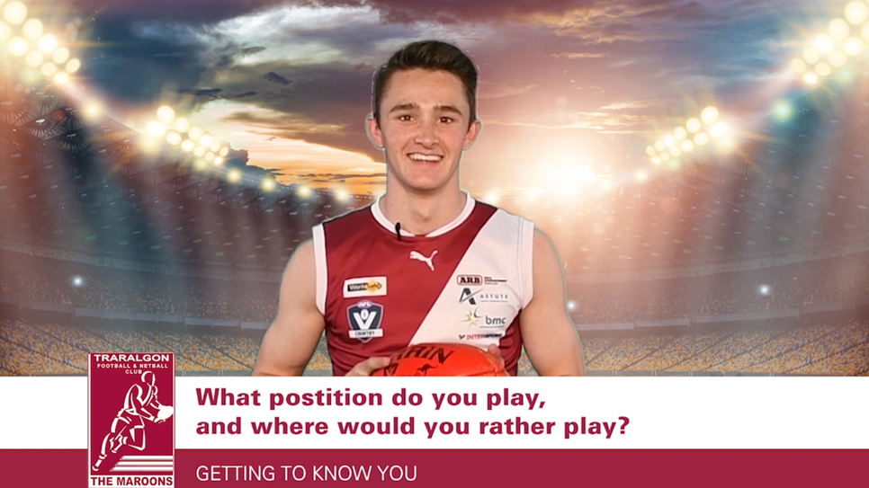 Traralgon FNC - Getting To Know You