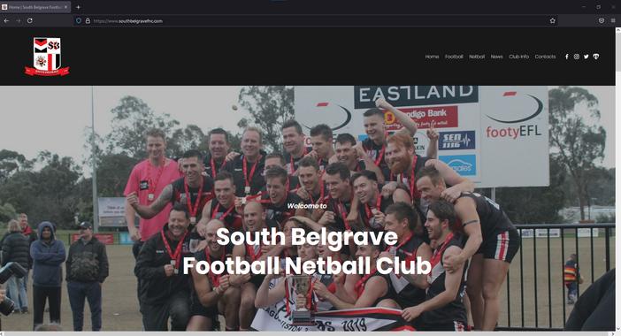 South Belgrave FNC Website