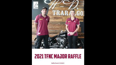 Traralgon FNC Major Raffle Ad 2021