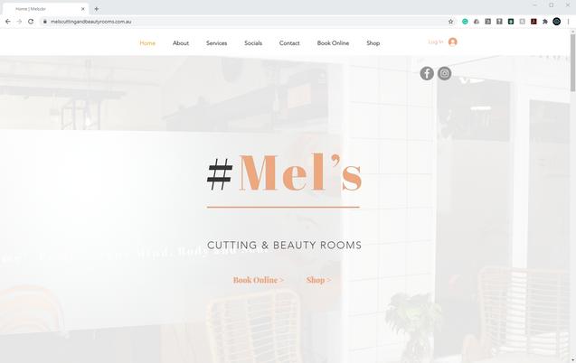 #Mels Website