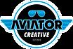 Aviator Creative Logo