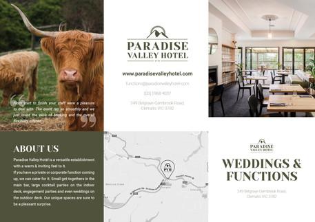 Paradise Valley Hotel DL Brochure