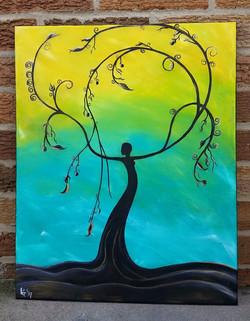 Goddess of the Trees II