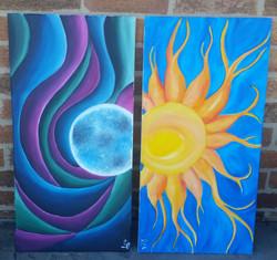 Mystical Moon II & Sunshine