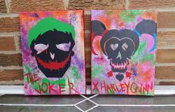 Mr. J & Harley Quinn