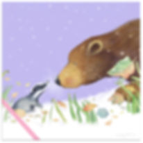 NEWgift wrapped badger.jpg