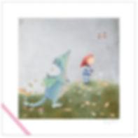 Dragon toddler leaves bird