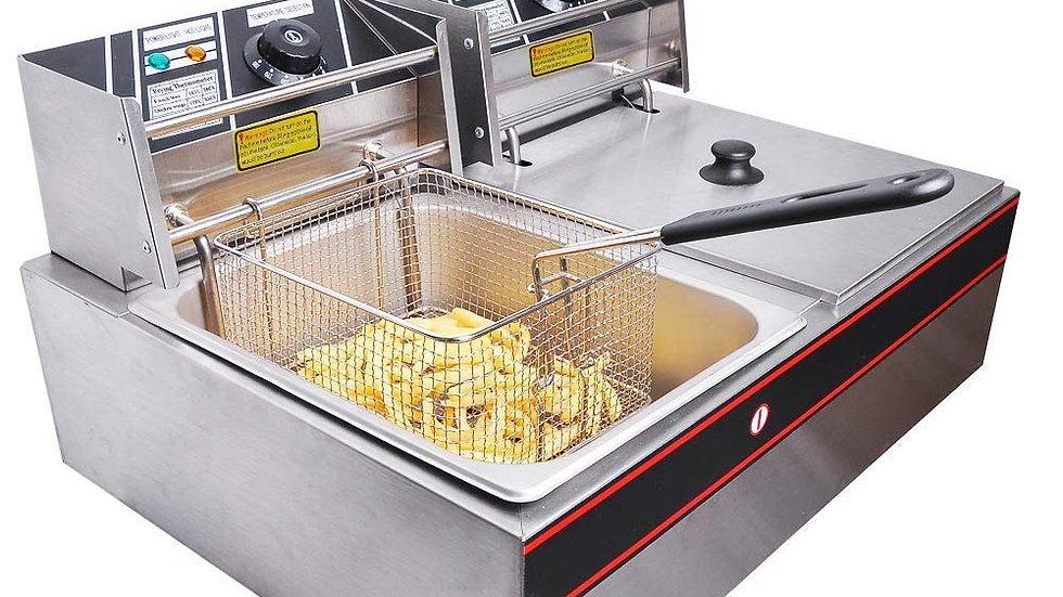 Double Electric Deep Fat Fryer(6L+6L)