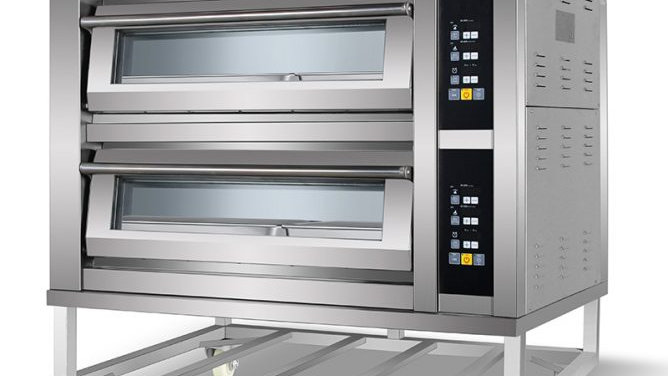 Two Deck 4 Tray Gas Oven