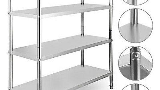SS Rack 4 Shelves