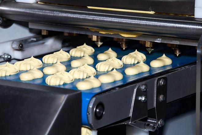 Biscuit depositing machine, equipment in