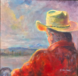SOLD -Contemplation