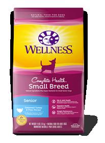 Wellness Small Breed Senior Dog Food