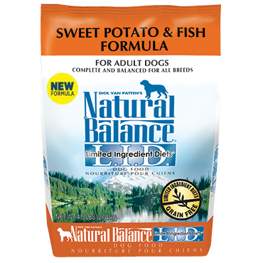 Natural Balance Sweet Potato and Fish