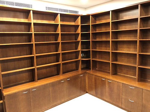 Fitted Library - Custom Project