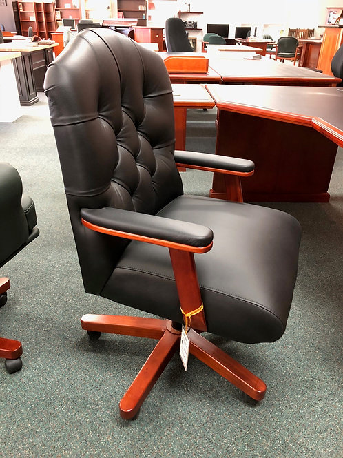 Teachers Style Leather Chair
