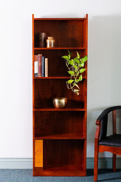 Gable Style Open Bookcase