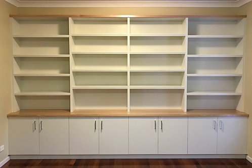 Fully Fitted Wall Unit