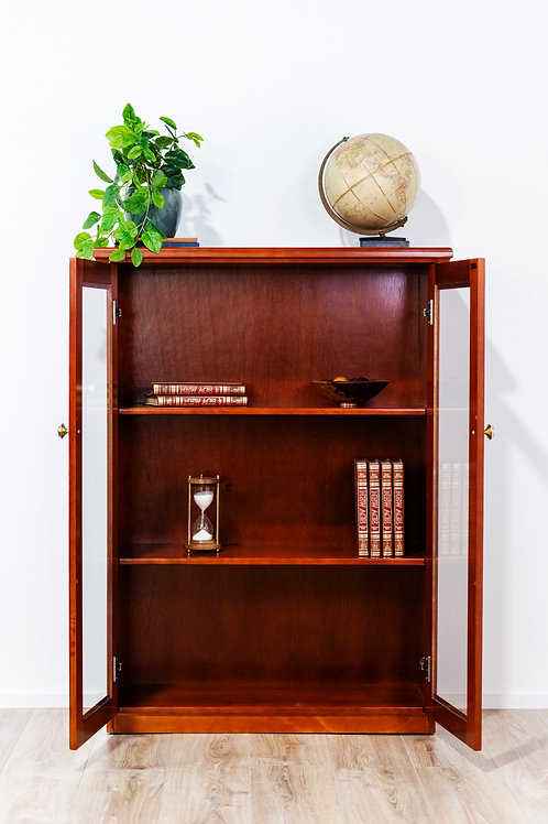 Ascot 3-Shelf Display Cabinet