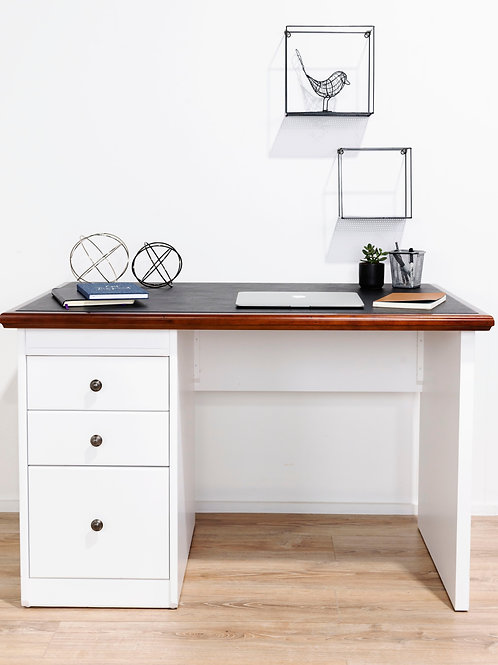 Ascot Style Single Pedestal Desk