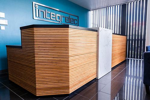 Reception Desk - Custom Project