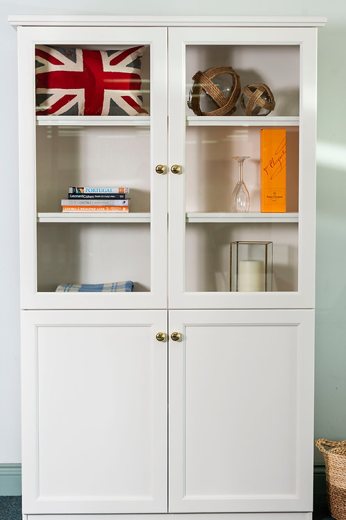 Ascot Style Display Cabinet and Bookcase