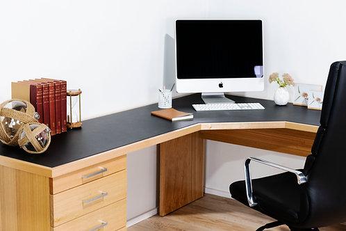 Infinity Style Single Pedestal 45⁰ Desk
