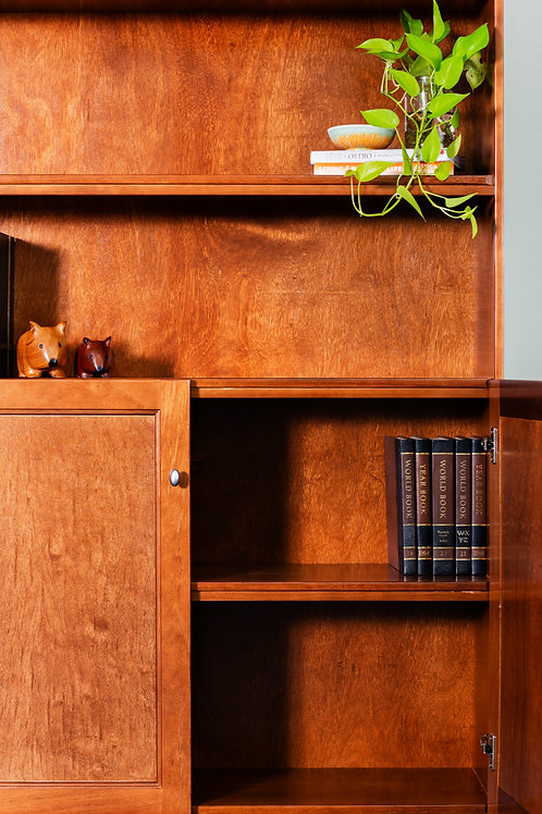 Ascot Style Bookcase and Display Unit