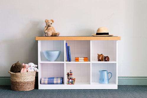 Small Open Bookshelf