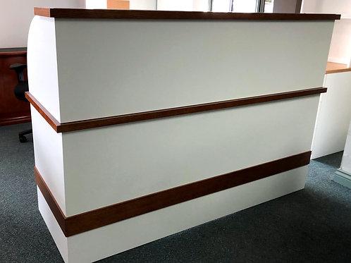 Infinity Style Reception Desk