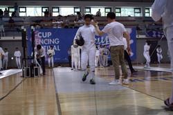 Fencing Match