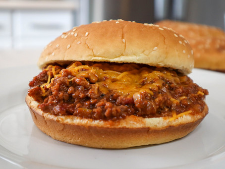 Grilled Sloppy Joes