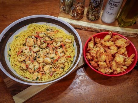 Shrimp~ Scampi & Fried