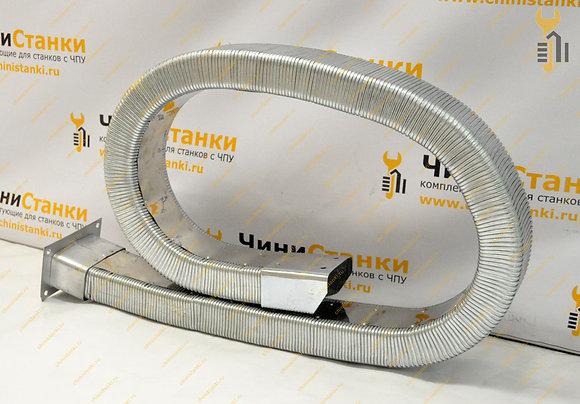 Гибкий кабель-канал металлический, закрытый HTXG08