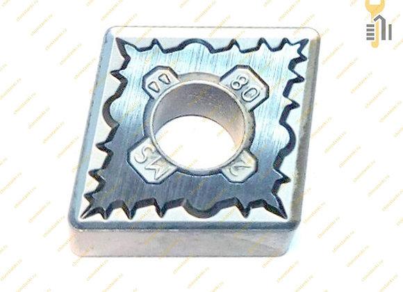 Пластина твердосплавная CNMG 120408 MS WU