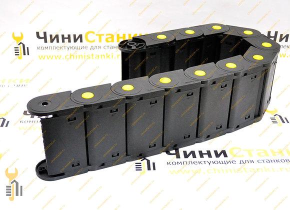 Закрытый гибкий кабель-канал 45х125 мм, JIN AO